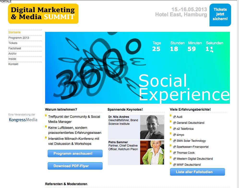 Digital Marketing & Media SUMMIT