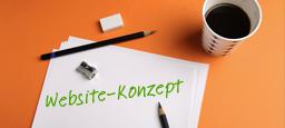 Website-Konzept