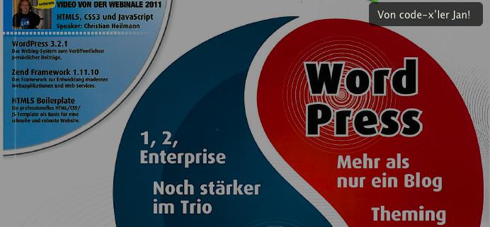 PHP Magazin / Ausgabe 10/11 2011