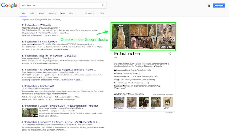 Bilder-SEO-Google-Onebox