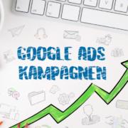 blauer text auf weißem hintergrund google ads kampagnen