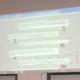 Twitterwall auf der Social Media Mittelstandskonferenz (c) 2012 www.smowl.de