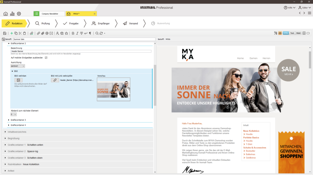 E-Mail-Marketing mit Inxmail
