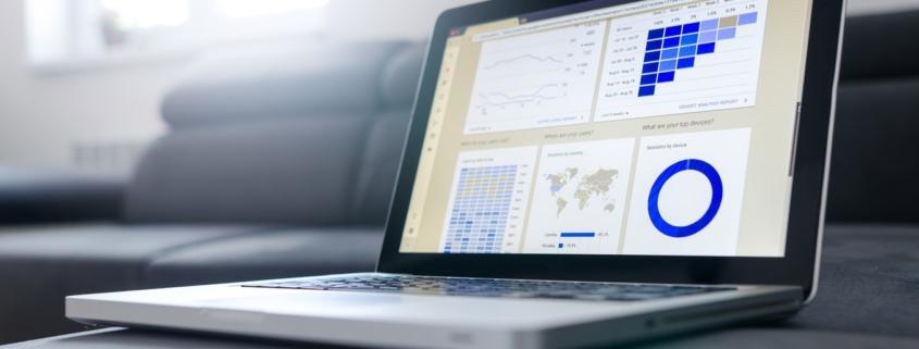 Analyse Tool auf einem Notebook