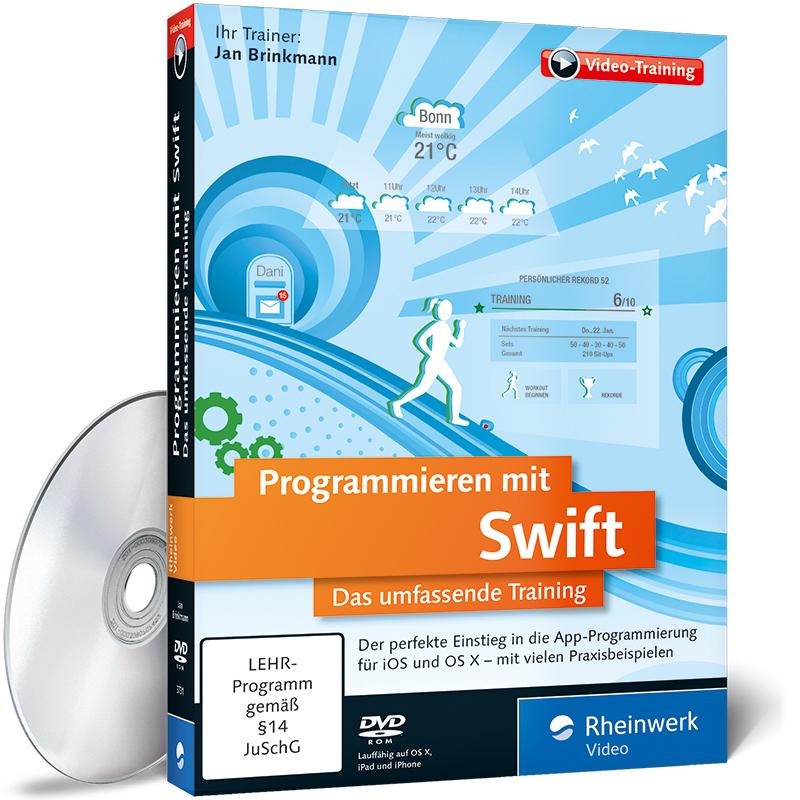 Programmieren mit Swift - Videotraining mit Jan Brinkmann