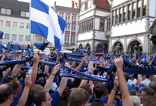 Der SC Paderborn 07 steigt auf in die 2. Bundesliga.