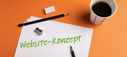 Website-Konzept
