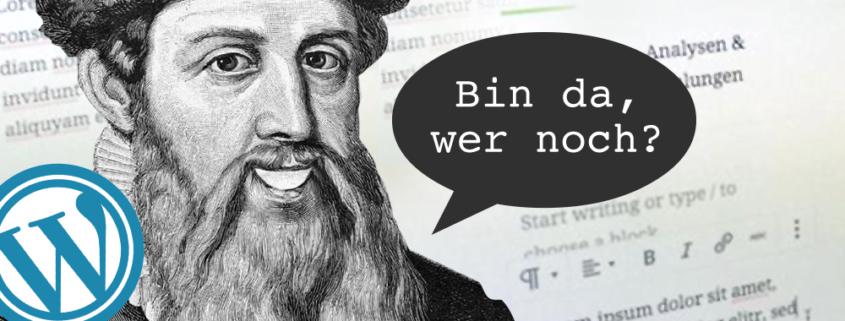 WordPress 5 mit Gutenberg